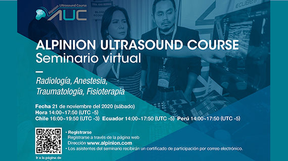 Seminario Virtual: Alpinion Ultrasound Course